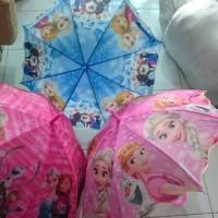 Payung Anak Frozen Pinggiran Gelombang Pluit Sale