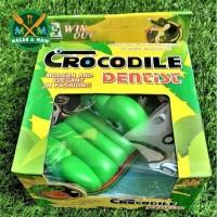 J403/1631A Mainan Keluarga Mainan Anak Crocodile Dentist Buaya Gigit