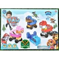 J143 2162 Mainan Anak Paw Patrol Lego Mainan Balok Susun Edukatif