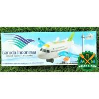 A380-300LI Mainan Anak Miniatur Diecast Pesawat Garuda Indonesia