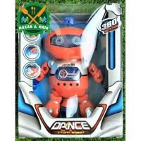 J358/99444-3 Mainan Anak Robot Dancing Robot Joget Stunt Dance Robot