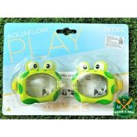 55603 Fun Goggles Mainan Anak Kacamata Renang Intex Warna Hijau