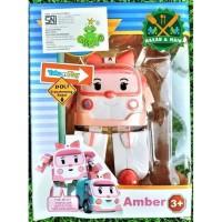 H745/83168 Mainan Anak Mainan Murah Action Figure Robocar Poli Amber