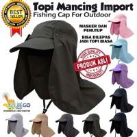 Topi Mancing / Pancing Anti Uv Import / Topi Jepang / Topi Outdoor
