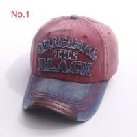 Topi Baseball Cap Import Original The Black