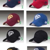 Topi Baseball Superman Flexfit Import Excellent Quality