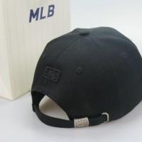 Topi Strapback Baseball Caps Ny New York Yankees Hitam Black Import