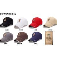 Baseball Cap : Ediko - Topi Baseball Topi Golf - Brewyn Black