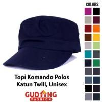 Topi Komando Polos Top 14 - Navy