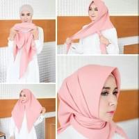 Jilbab Hijab Instan Oshi Plain Swarovski
