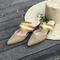 Julie Gold Pointy Casual shoes 2.5cm