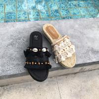 Casey Casual shoes Cream & Black 2.5cm