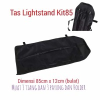PROMO Tas lighstand Tiang Stand light kit85 Carry804