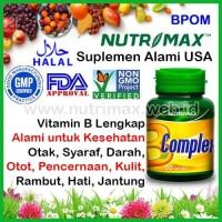 Nutrimax B Complex/Kompleks Vitamin Untuk Kesehatan Saraf/Syaraf Tubuh