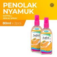 Soffell Botol Spray Kulit Jeruk 80Ml x2