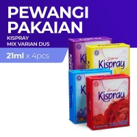 Kispray Dus Varian Campur - 4 Dus