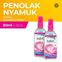 Soffell Botol Spray Bunga Geranium 80Ml x2