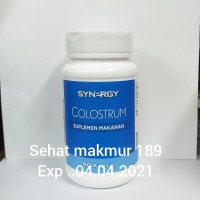 Synergy Colostrum Kapsul Suplemen Makanan(90kap)