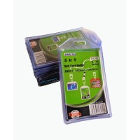 Jingtai Casing Id Card Holder 1 Muka Lentur - Bening (Pak isi 10 pcs)