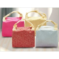 Lunch Cooler Bag Box Tas Tempat Bekal Makanan Anak Bento Motif Stripe