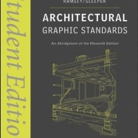 Architectural Graphic Standards: Student Edition (11th Edition) eBook