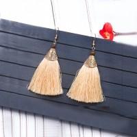 Bohemian Folk Tassel Earrings 032FEFr