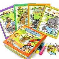 Magic Water Drawing Soft Book / Buku Mewarnai Anak / Mainan Edukasi