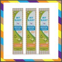 My Baby Paket Hemat Minyak Telon Plus 90ml 3pcs - MTK039
