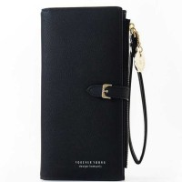 Pely Dompet Wanita Wristband Long Wallet Purse Zipper - A2