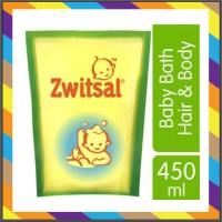 ZWITSAL BABY BATH 2 IN 1 HAIR BODY REFILL 450ML aloevera