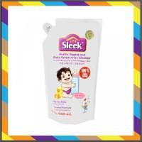 SLEEK BABY BOTTLE NIPPLE CLEANSER POUCH 900ML Sabun Cuci Botol Bayi