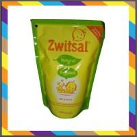 Zwitsal Baby Bath Milk Honey Refill 450ml