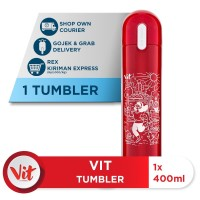 VIT Tumbler Olahraga Santuy (Red)