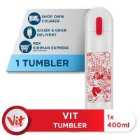 VIT Tumbler Olahraga Santuy (White)