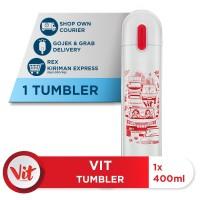 VIT Tumbler Macet Santuy (White)