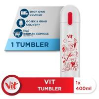 VIT Tumbler Kerja Santuy (White)