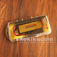 Batere Baterai Airsoft Battery Firefox Lipo 1600mAh 20c - kotak