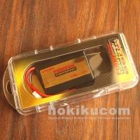 Batere Baterai Airsoft Battery Firefox Lipo 1300 mAh 20c Mini Kotak