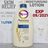 Aveeno Skin Relief Moisturising Lotion 1000ml 1 Liter Litre
