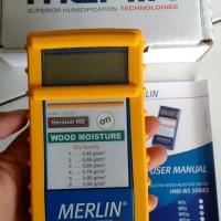 Wood Moisture Meter MERLIN HM8 WS25 Bergaransi