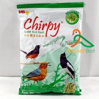 Chirpy Voer Hijau Super Bird Food Seawed Anti Stress