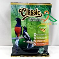 Classic Hijau Singing Bird Food Voer Hijau Plus Seaweed plus Madu