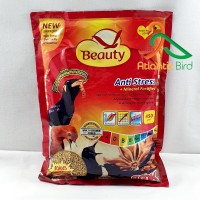 Beauty Bird Food Kemasan Merah Voer Pellet anti Stress
