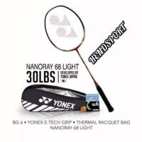 RAKET YONEX ORIGINAL NANORAY RUDI HARTONO LIGHT