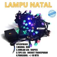 Lampu Natal LED / Lampu Tumblr / Twinkle Light /Lampu Dekorasi Hias
