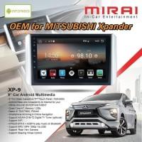 "Headunit Xpander / Mirai MR-XP9 Xpander 9"""