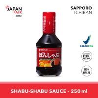 Saus Mizkan Pon Shabu 250ml Bumbu Shabu-Shabu Jepang