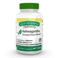 Health Thru Nutrition Ashwagandha Clinically Proven KSM-66 500mg 90pcs