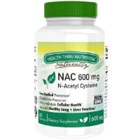 Health Thru Nutrition NAC 600mg N-Acetyl Cysteine isi 60