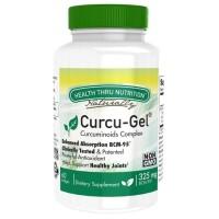 Health Thru Nutrition Curcu-Gel 325mg BCM-95 isi 60
